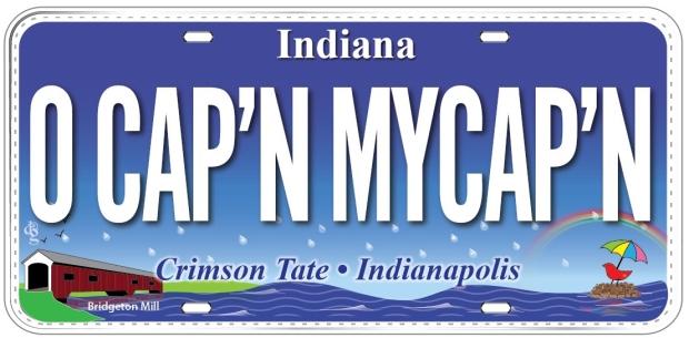 4779 IN Crimson Tate • Indianapolis O CAP'N MYCAP'N